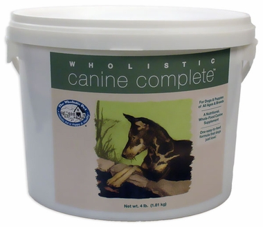 Wholistic Canine Complete (4 lbs Tub)
