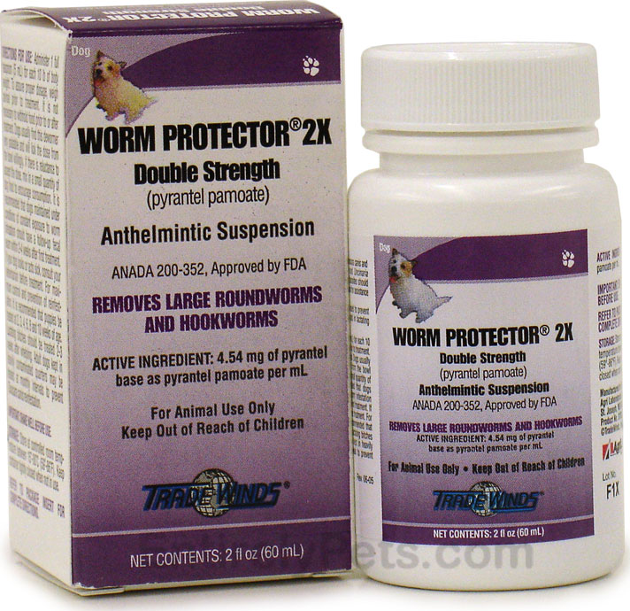 Worm Protector 2X Double Strength (2 fl oz)