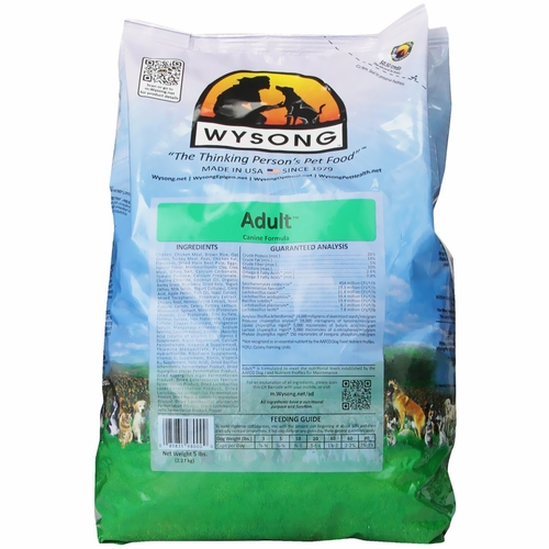 Wysong Adult Maintenance Natural Dog Food (5 lb)