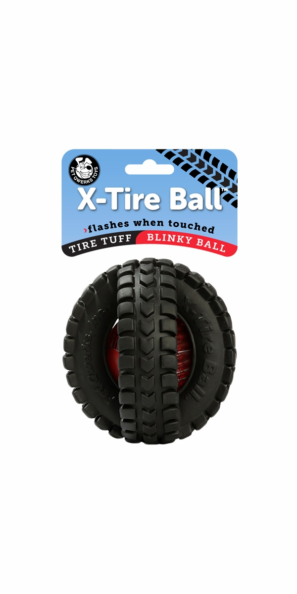 X-Tire Blinky Ball 5""