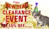 Year-End BLOWOUT Sale - Cat