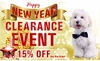 Year-End BLOWOUT Sale - Dog
