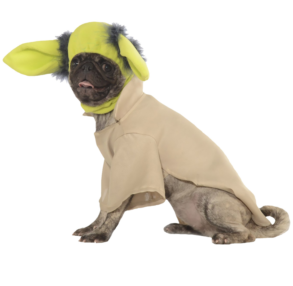 Yoda Dog Costume - Small