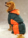 Zack & Zoey Base Camp Parkas - Green & Orange