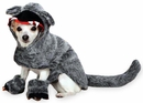 Zack & Zoey Big Bad Woof Costume Grey - SMALL