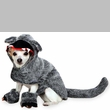 Zack & Zoey Big Bad Woof Costume Grey - XLARGE