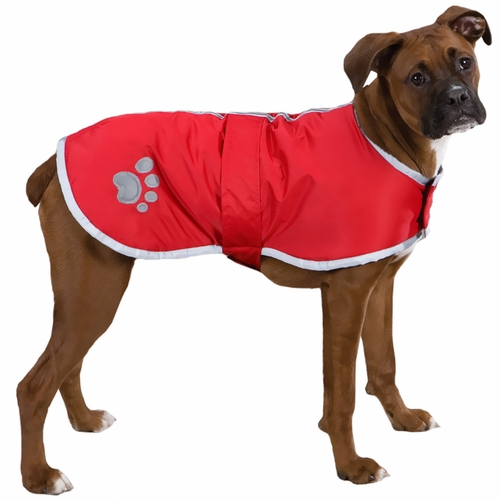 Zack & Zoey Classic Nor'Easter Jacket Red - Medium