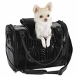 Zack & Zoey Croco Pet Carrier Black - Small