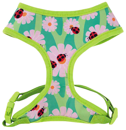 Zack & Zoey Flutter Bugs Harness Lady Bug - Medium