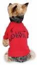 "Zack & Zoey Halloween Lil' Devil Tee Red - XL (24"")"