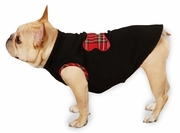 Zack & Zoey Holiday Tartan Fleece Pullovers Black