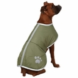 Zack & Zoey Nor'easter Dog Blanket Coat - Chive (Large)