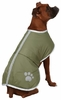 Zack & Zoey Nor'easter Dog Blanket Coat - Chive (Medium)