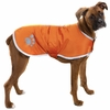 Zack & Zoey Nor'easter Dog Blanket Coat - Orange (Large)