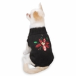 "Zack & Zoey Poinsettia Sweaters Black - S (12"")"