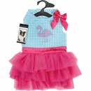 Zack & Zoey® Sparkle Flamingo Dress