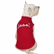 Zack & Zoey Sweetheart Scottie Fleece Vest Red - LARGE