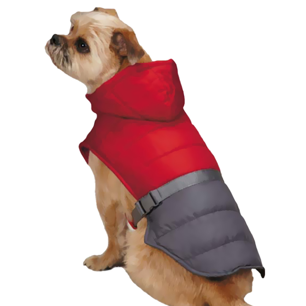 Zack & Zoey Trek Puffy Jacket - Red (Small)