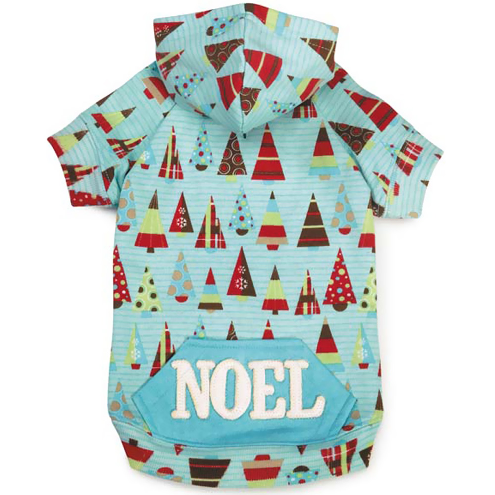 Zack & Zoey Winter Lights Hoodie Tree - X-SMALL