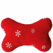 Zanies Blizzard Bone Red - Small 4""