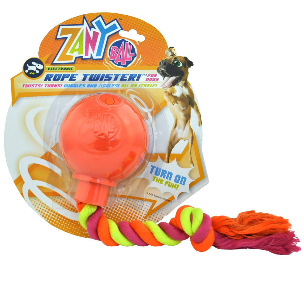Zany Ball Rope Twister