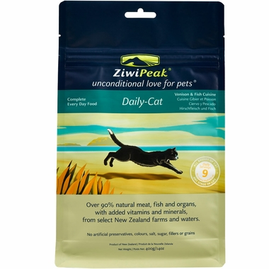 ZiwiPeak Daily-Cat Venison & Fish Cuisine (14 oz)