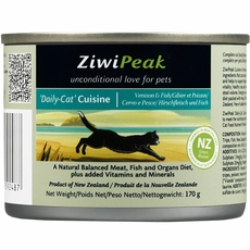 ZiwiPeak Daily-Cat Venison & Fish Cuisine (5.5 oz)