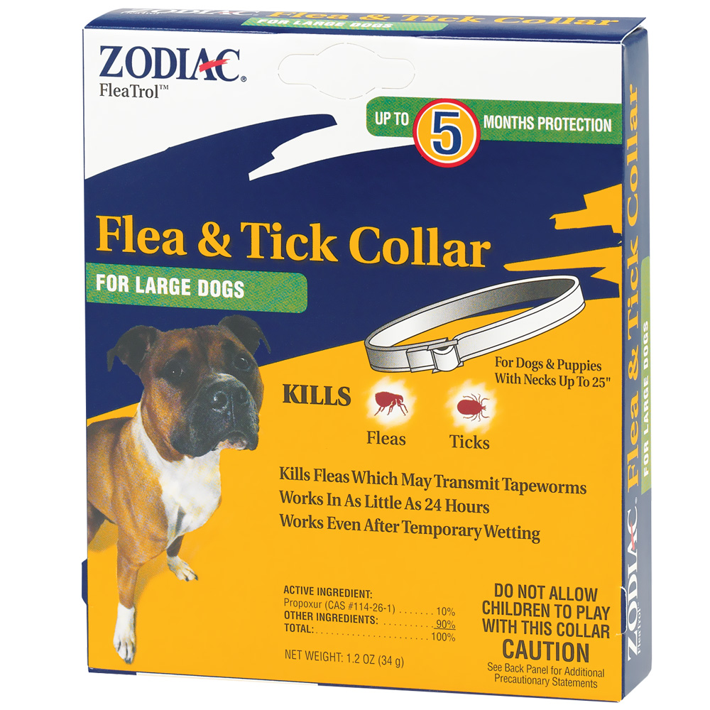 Zodiac Flea & Tick Collar for Large Dogs (5 Months)