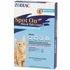 Zodiac Spot On Plus Flea & Tick Control For Cats/Kittens under 5 lbs (4 pack)