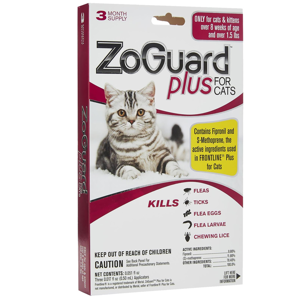 ZoGuard™ Plus for Cats (3 Pack)