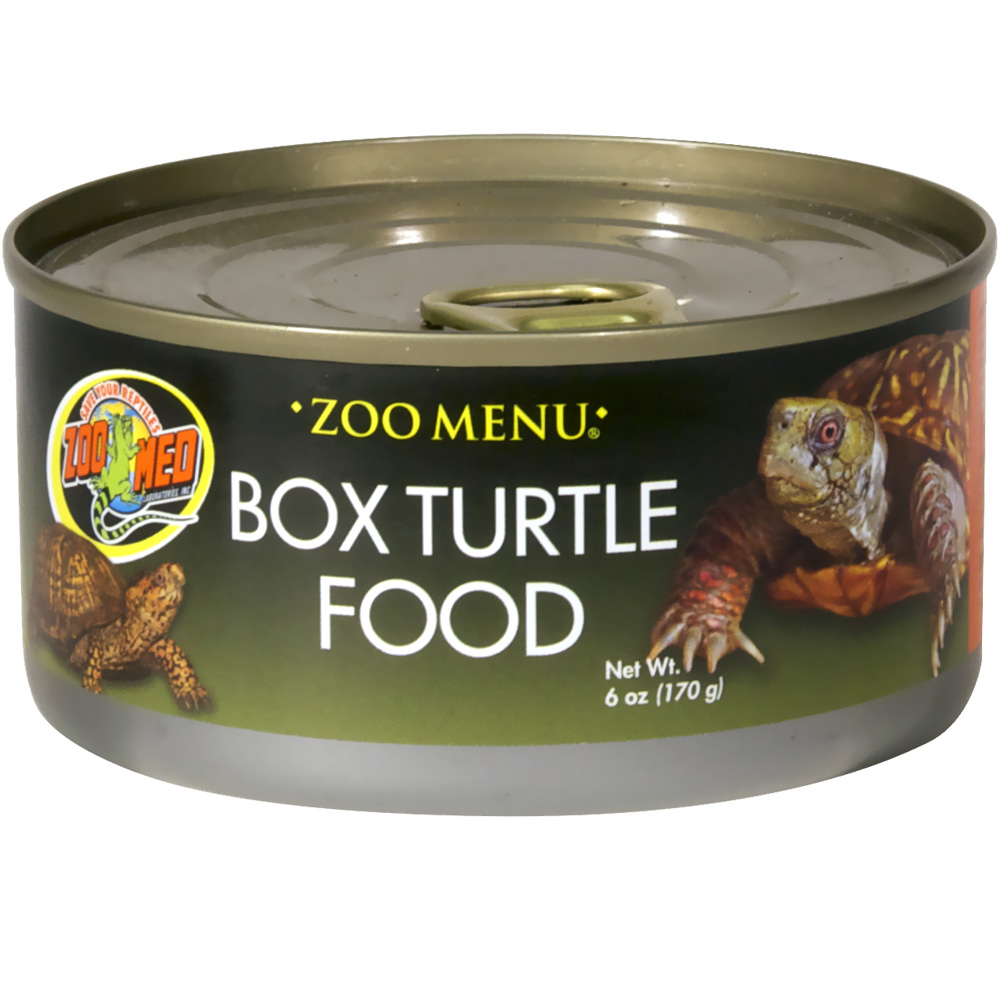 Zoo Med Box Turtle Food Canned Food (6 oz)
