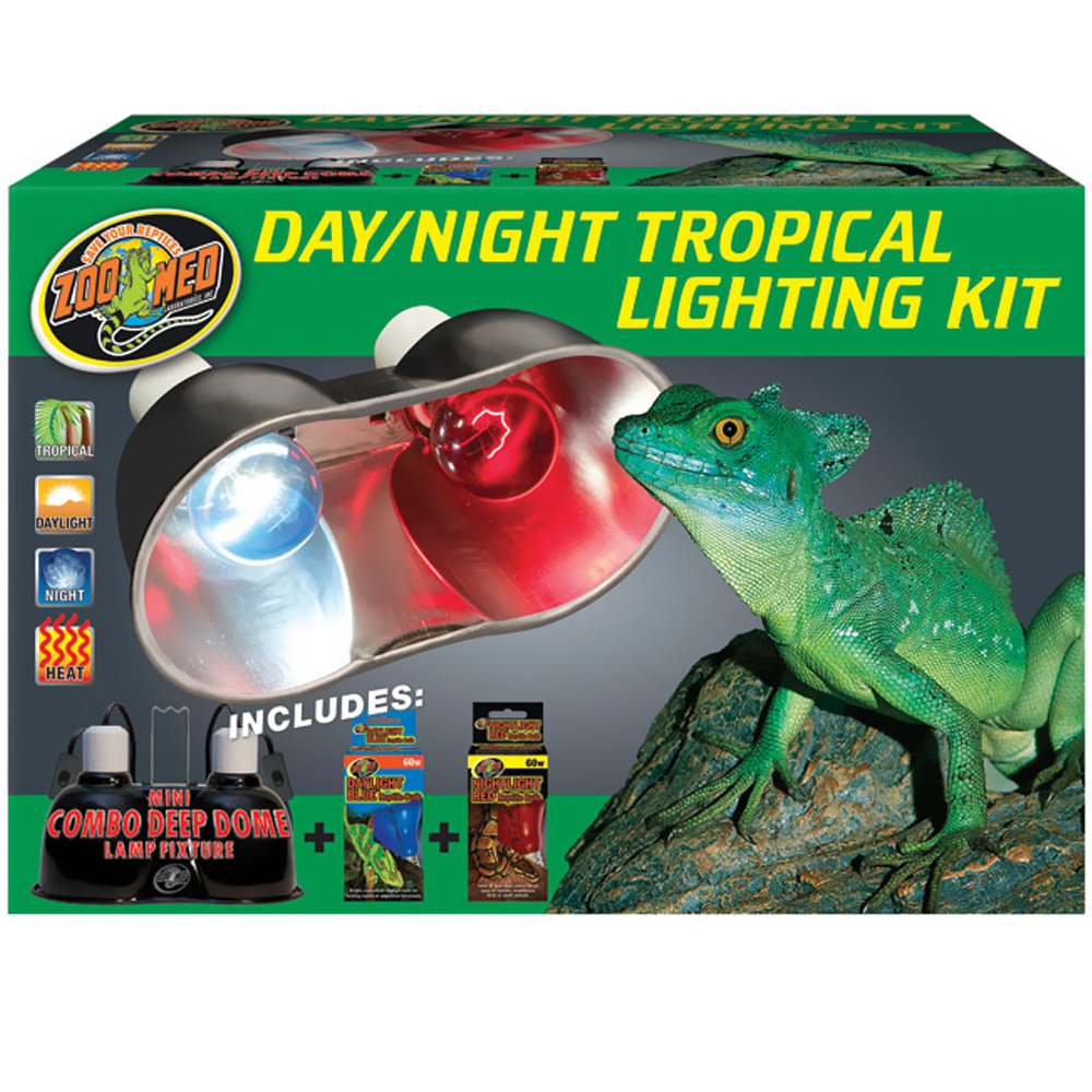Zoo Med Day/Night Tropical Lighting Kit