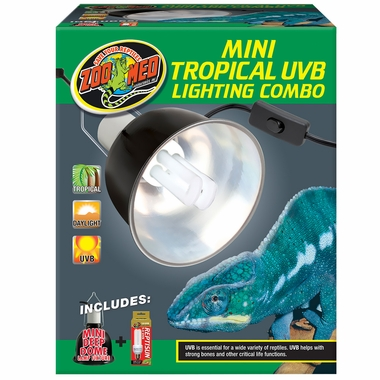 Zoo Med Mini Tropical UVB Lighting Combo