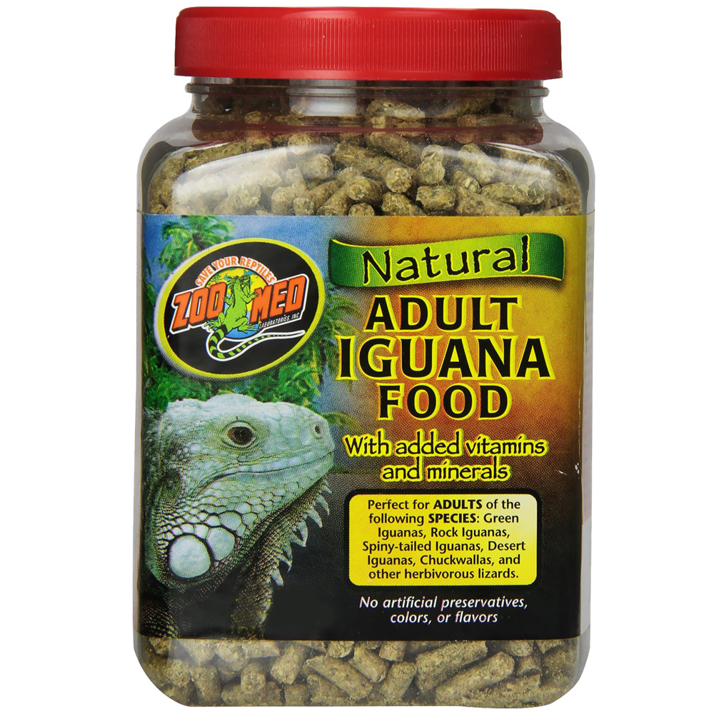 Zoo Med Natural Adult Iguana Food (25 lb)