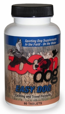 Zoom Dog Easy Dog Calming & Travel Formula (60 Tabs)