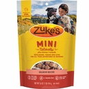 Zuke's Mini Naturals Moist Miniature Treats For Dogs - SALMON (1 lb)