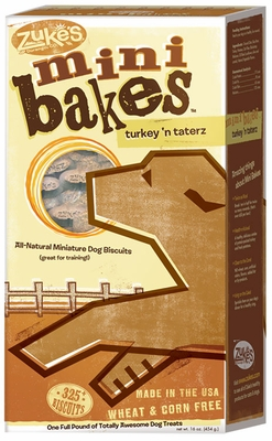 Zukes Mini Bakes Turkey 'N Taterz  (16 oz)