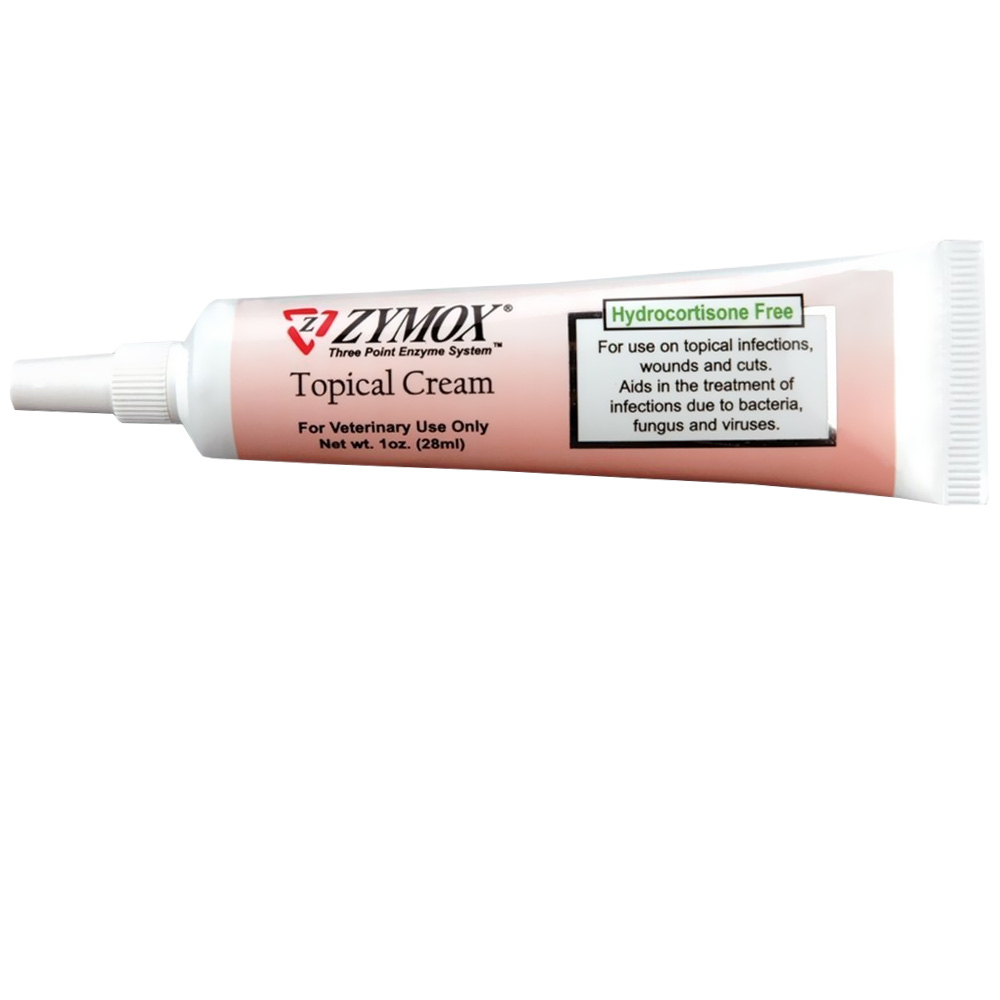 Zymox Cream without Hydrocortisone (1 oz)