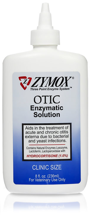 Zymox Otic With Hydrocortisone 1 0 Clinic Size 8oz