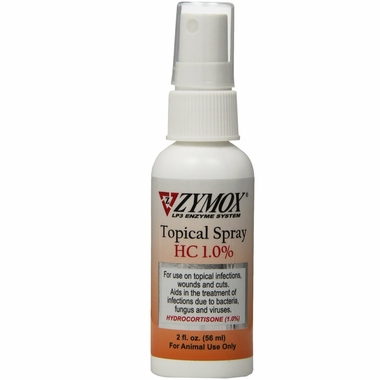 Zymox Spray with Hydrocortisone (2 oz)