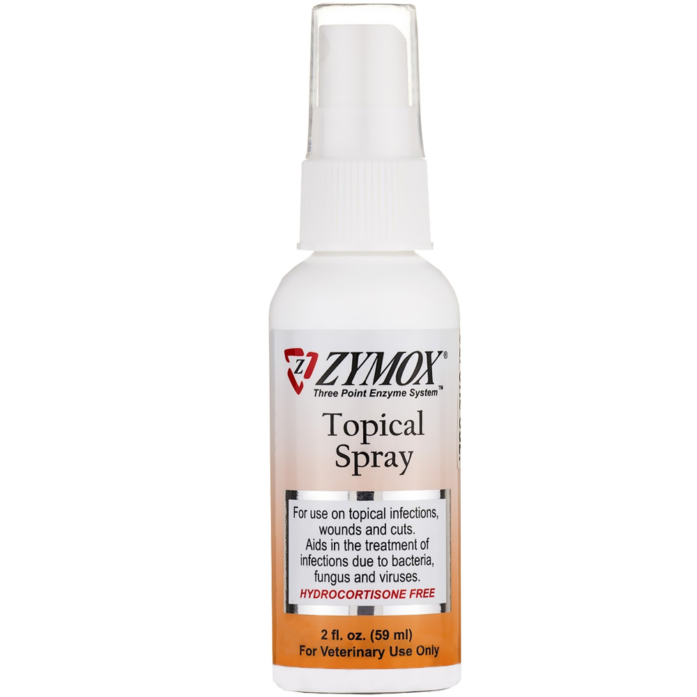 Zymox Spray without Hydrocortisone (2 oz)