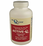 100mg ActiveQ (180 Softgels) uses Ubiquinol the �active� antioxidant form of Coenzyme Q10