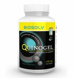 100mg Quinogel Solubilized Ubiquinol CoQ10 (Hydrosoluble Kaneka QH) 100mg / 180 Softgels