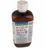 200 mg LiQ-10 Syrup Liposomal CoQ10 (200mg per 5ml / 500ml bottle)