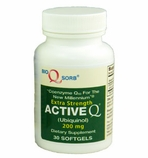 Active-Q Ubiquinol 200mg (30 Softgels) featuring Kaneka QH CoQ10