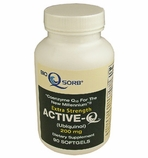 200mg ActiveQ (90 Softgels) uses Ubiquinol the �active� antioxidant form of Coenzyme Q10