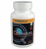 50mg Quinogel Solubilized Ubiquinol CoQ10 (Hydrosoluble Kaneka QH / 60 Softgels)