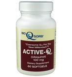 Active-Q Ubiquinol 100mg (60 Softgels) featuring Kaneka QH CoQ10