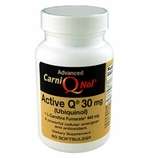 Carni-Q-Nol with Active Q 30 mg Bio-Enhanced (Ubiquinol CoQ10) and 440 mg L-Carnitine Fumarate (60 count bottle)