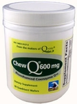 ChewQ 600mg Chewable HIGH Dose CoQ10 - Utilizes Advanced Absorption Hydro-Q-Sorb® Formula